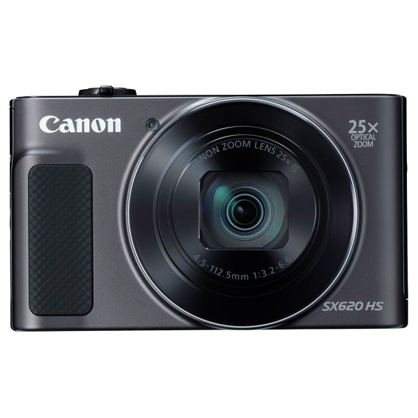 Canon powershot sx620hs negro cámara compacta 20.2mp full hd 25x gran angular digic4+ wifi nfc