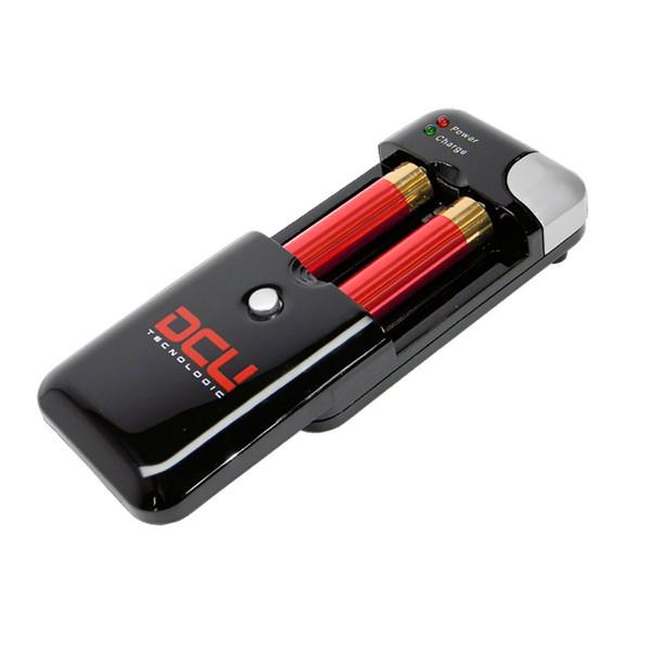 Dcu cargador universal de pilas y batería con indicador de carga