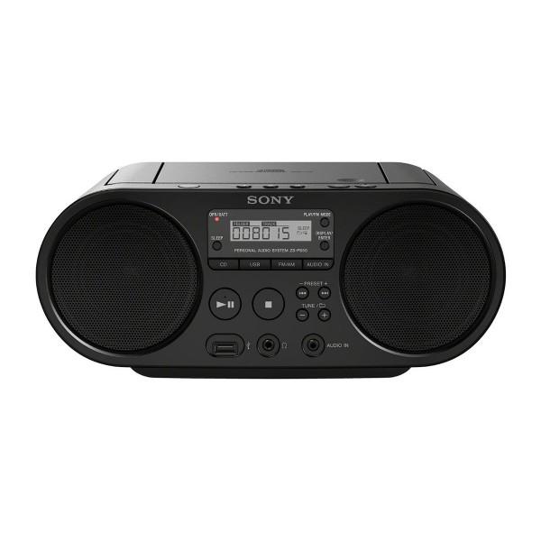 Sony zsps50b radio cd mp3 usb negro