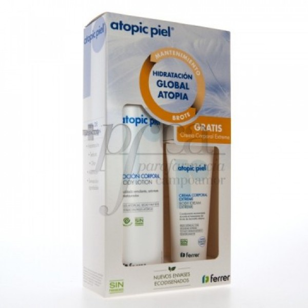 ATOPIC PIEL LOCION 500ML+GEL DE BAÑO 750ML PROMO