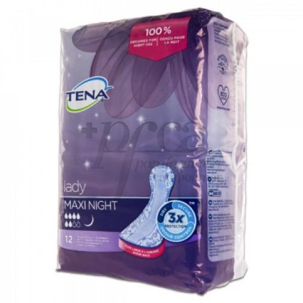 TENA LADY MAXI NIGHT 12U