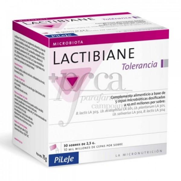 LACTIBIANE TOLERANCE 30 SOBRES
