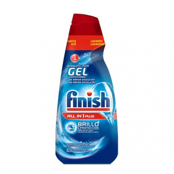 Finish lavavajillas  Gel all in one plus  700 ml  33 + 2 lavados