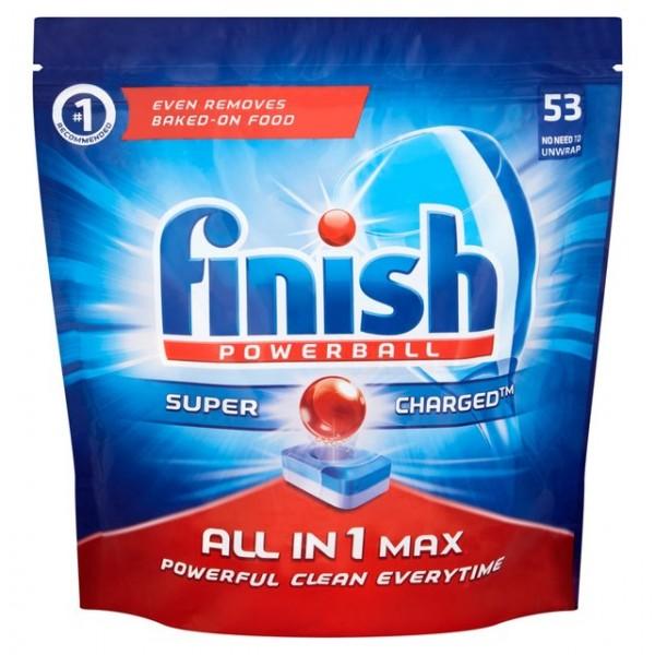 Finish lavavajillas super power 53 pastillas