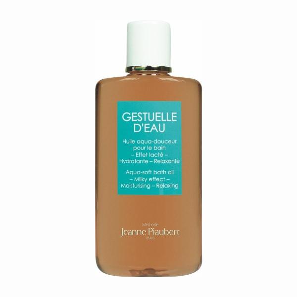 Jeanne piaubert gestuelle d'eau aqua-soft bath oil milky effect 200ml