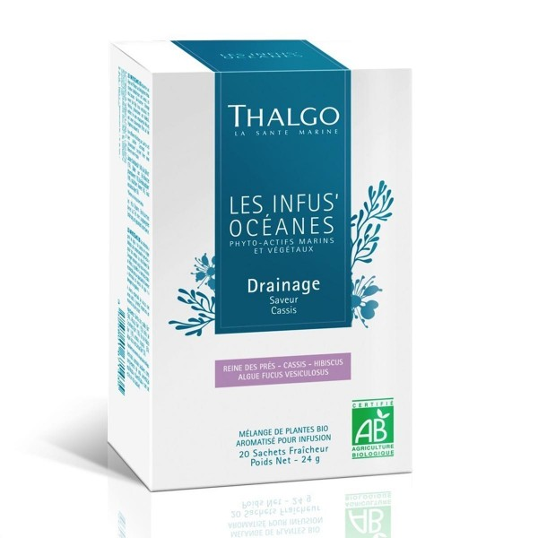 Thalgo les infus oceanes bio infusion drainage 20 caps.