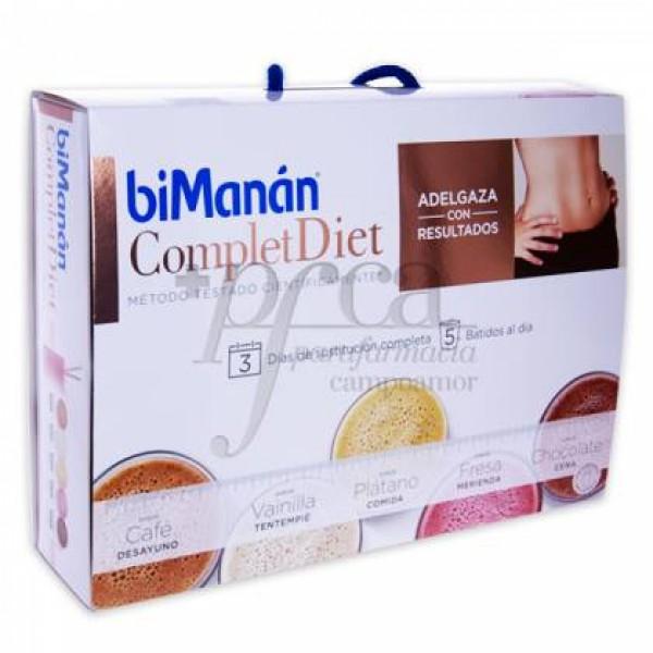 BIMANAN COMPLET DIET 3 DIAS COMPLETOS 15 SOBRES