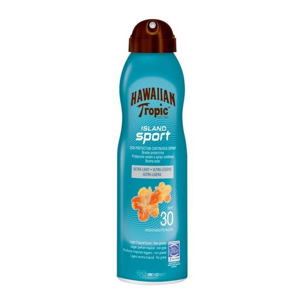 Hawaiian tropic island sport ultra light spf30 spray 220ml vaporizador
