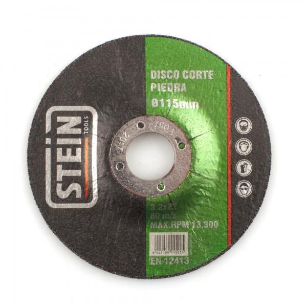 Disco stein cortar piedra 115 mm.