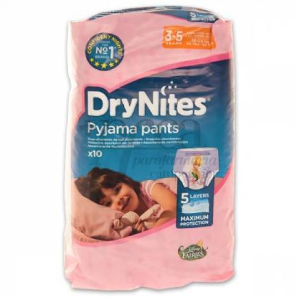 DRYNITES PYJAMA PANTS NIÑA 3-5A 16-23KG 10U