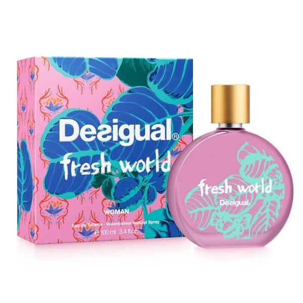 Desigual fresh world eau de toilette mujer 100ml vaporizador