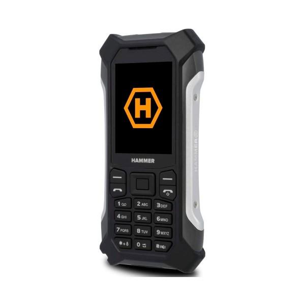 Myphone hammer patriot plus negro movil resistente 3g dual sim 2.4'' cámara 2mp ranura microsd fm mp3 bluetooth