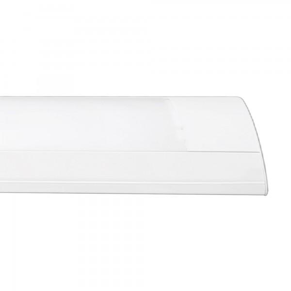 Pantalla blanca ip20 p/2tub.led 25w.150c