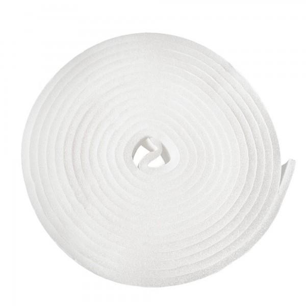Burlete espuma alfa 10 m. x  9  mm.