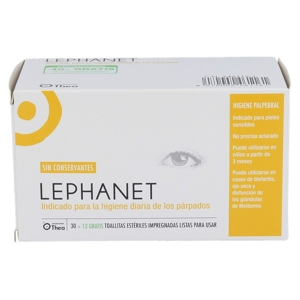 LEPHANET 30 + 12 TOALLITAS ESTERILES PROMO