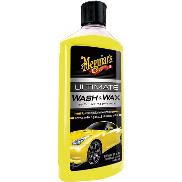Meguiar's MG17716 Ultimate Wash and Wax Champú con cera