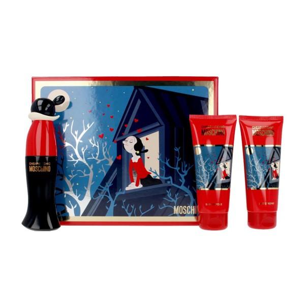 Moschino cheap and chic eau de toilette 50ml vaporizador + gel de baño 100ml + locion corporal perfumada 100ml