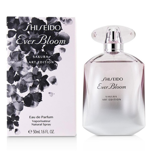 Shiseido ever bloom eau de parfum 50ml vaporizador