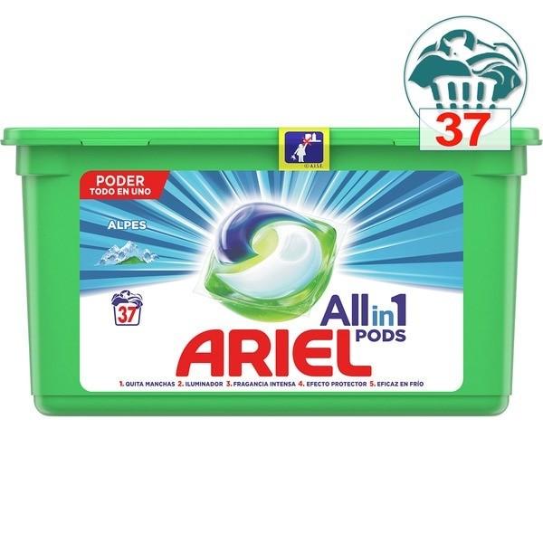 Ariel AllinOne Pods detergente 37 cápsulas